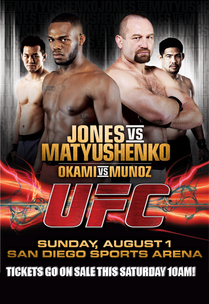UFC on Versus 2 Poster Pic