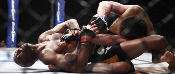 Anderson Silva submission- gallery