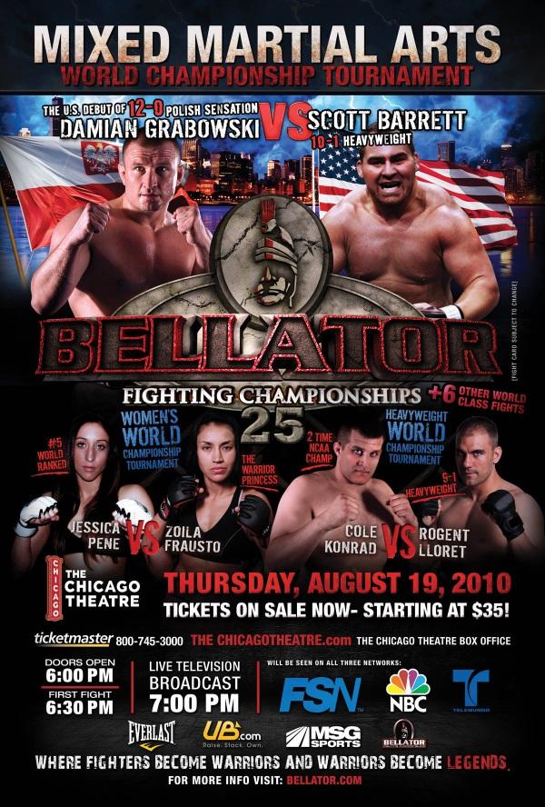 Bellator 25 Poster Pic