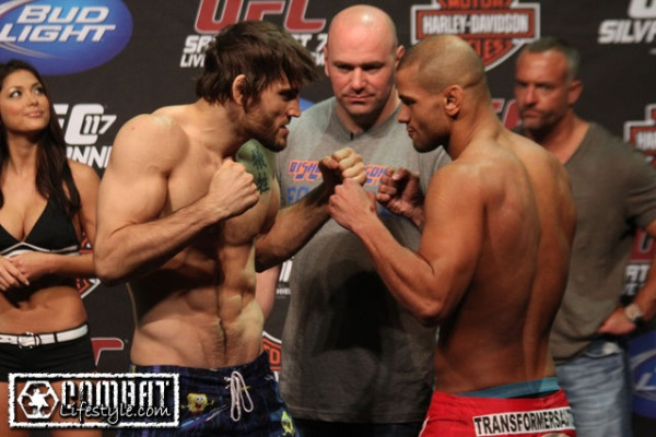 Fitch vs Alves 2 weigh in pic