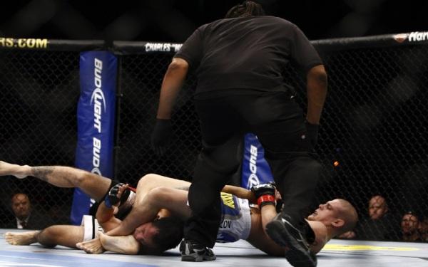 Lauzon submits Ruediger UFC 118