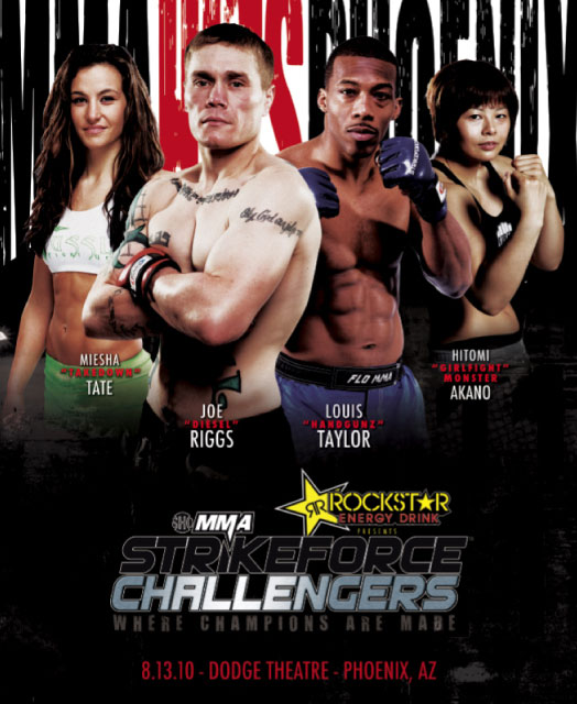 Strikeforce Challengers 10 Poster Pic