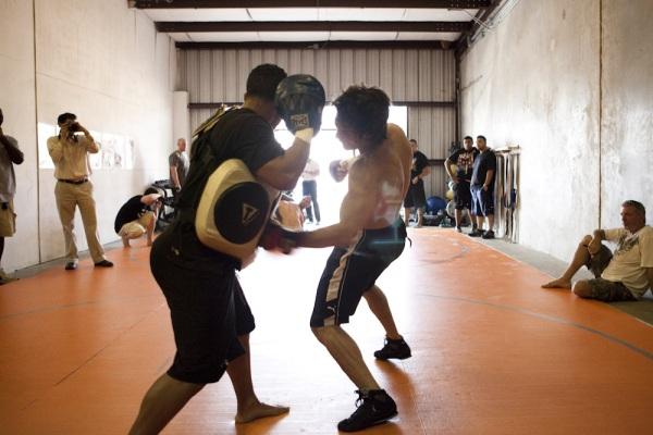 Strikeforce Houston Open Workout 4