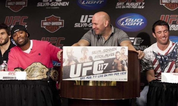 UFC 117 Presser Pic 2