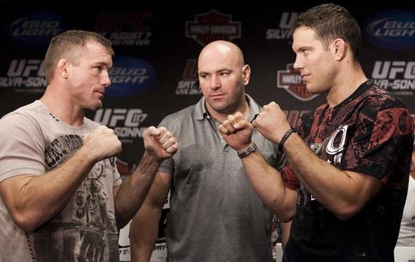 UFC 117 Presser Pic 4