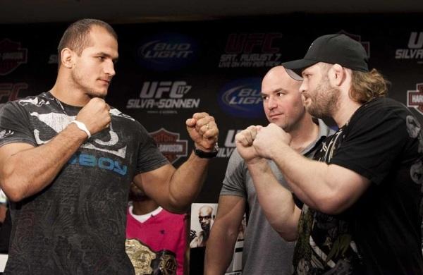 UFC 117 Presser Pic 5