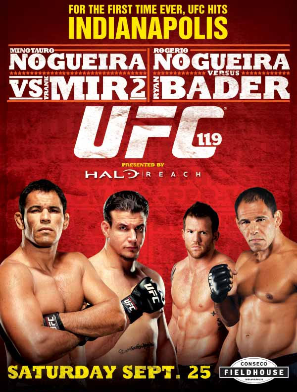 UFC 119 Poster Pic
