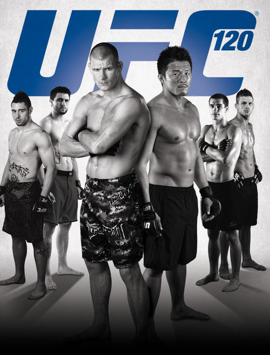 UFC 120 Poster Pic
