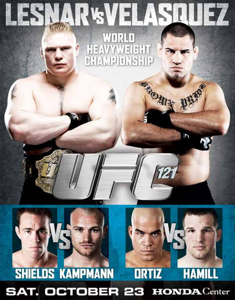 UFC 121 Poster Pic