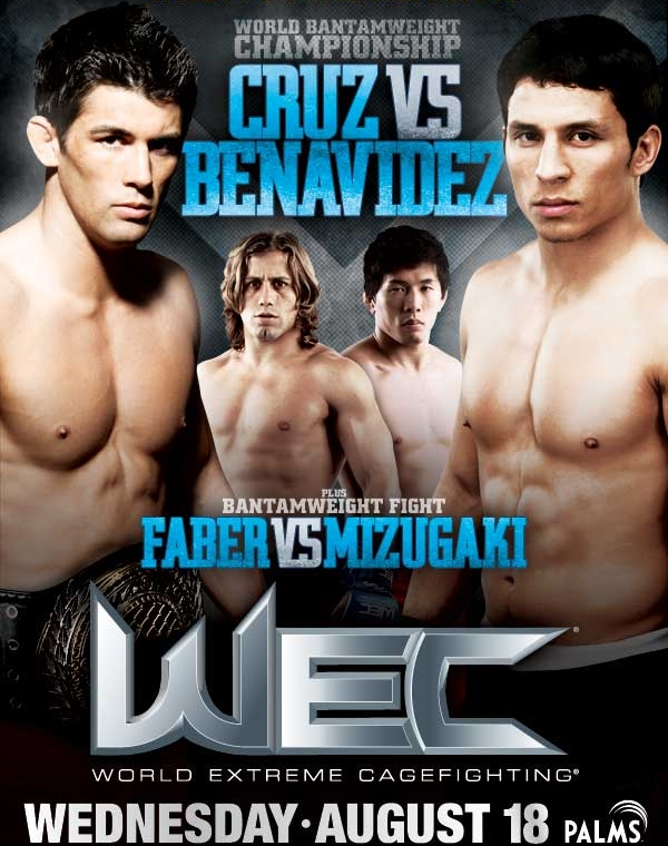WEC 50 Poster Pic