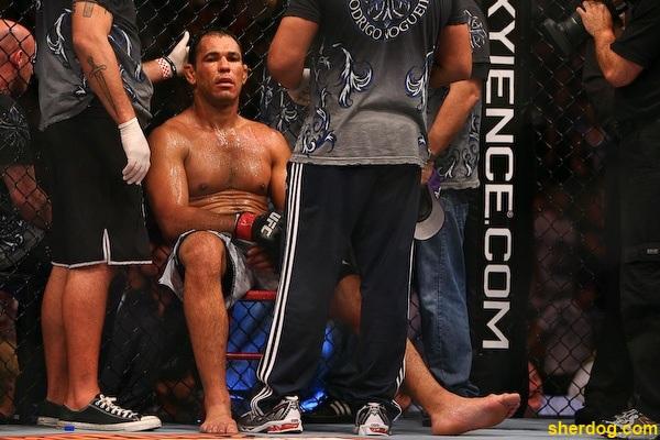 Antonio Rodrigo Nogueira injury