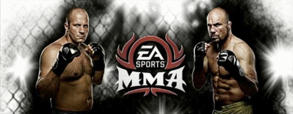 EA Sports MMA 2010 Cover