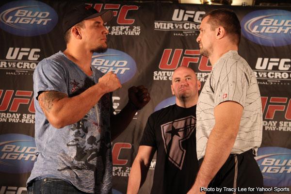 Frank Mir vs Cro Cop UFC 119