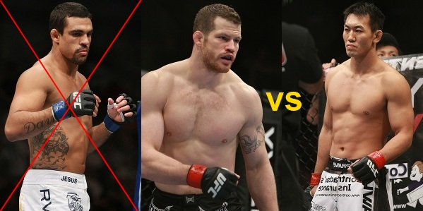 Marquardt vs Okami with Belfort out