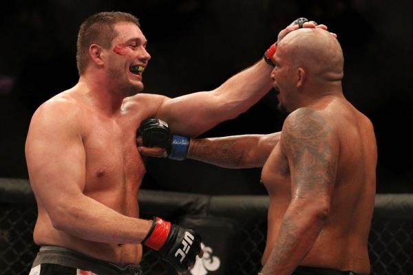 Mitrione and Beltran UFC 119