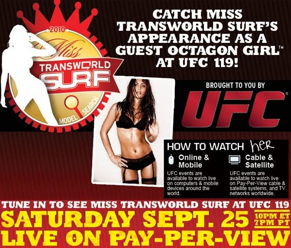 UFC 119 Brittany Ward 3