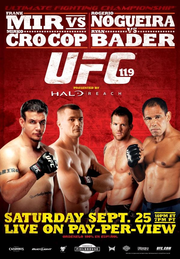 UFC 119 Poster