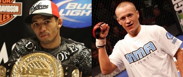 Aldo vs Hominick title fight