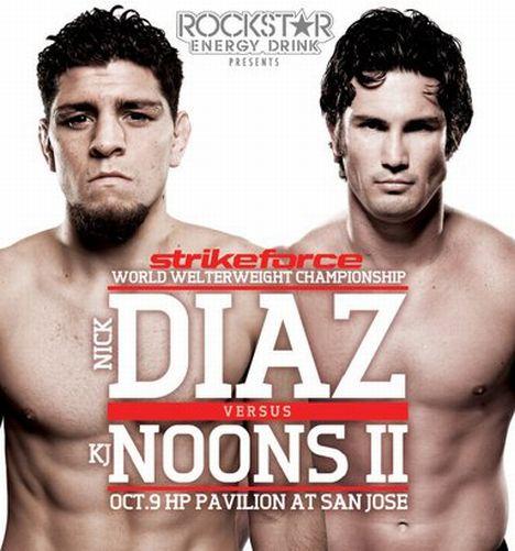 Strikeforce Diaz vs Noons 2 Poster Pic