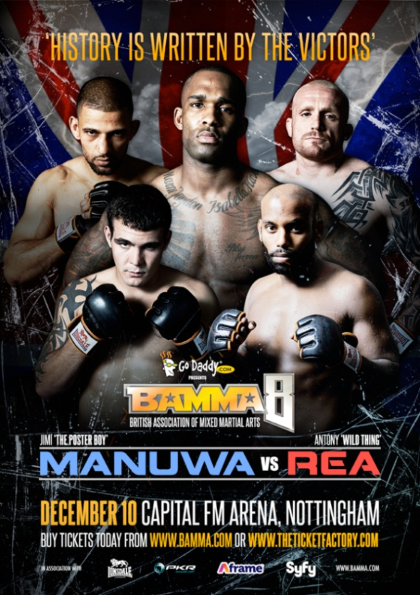 BAMMA 8- poster