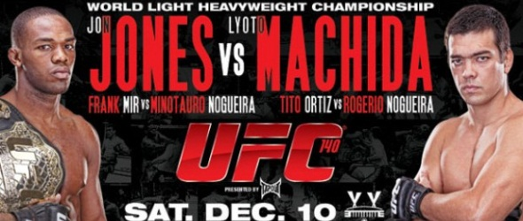 UFC 140 poster- gallery