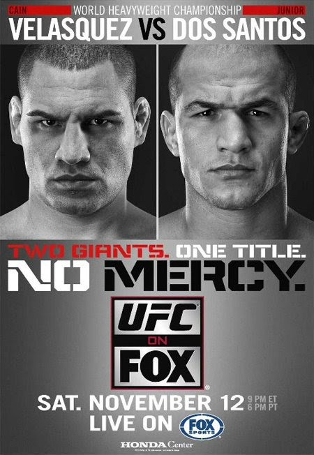 UFC on Fox 1 Poster Pic