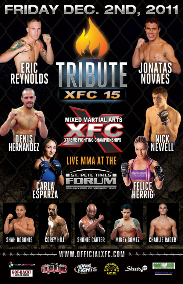 XFC 15- poster
