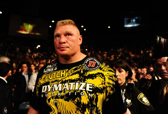 Brock Lesnar disappointment UFC 141