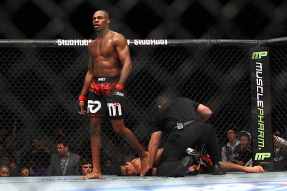 UFC 140 Jones Beats Machida