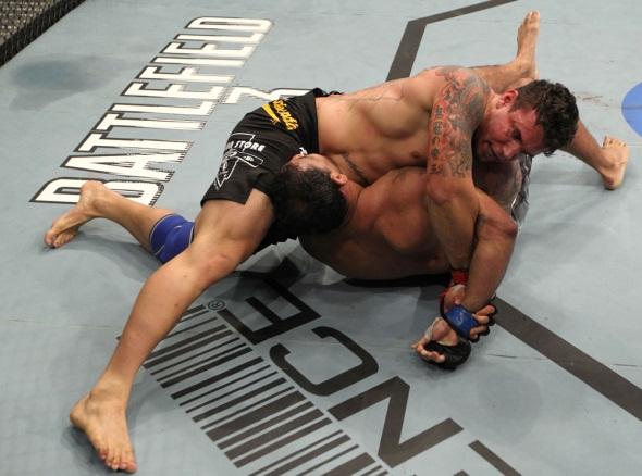 UFC 140 Minotauro Broken Arm 5