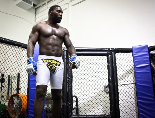 Anthony Johnson Middleweight UFC 142