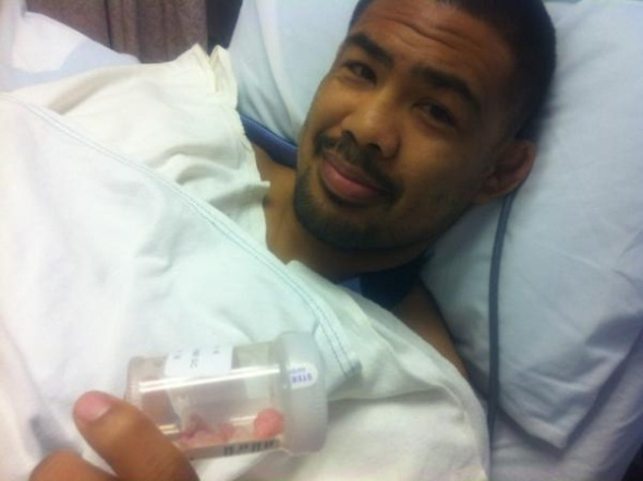 Mark Munoz Surgery 1