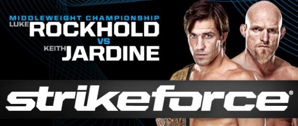 Strikeforce Rockhold vs Jardine Poster- gallery