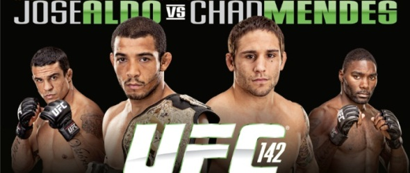 UFC 142 Aldo vs Mendes Poster- gallery
