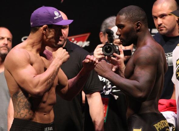 UFC 142 Belfort vs Johnson weigh in