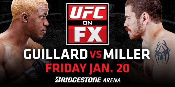 UFC on FX 1 Poster