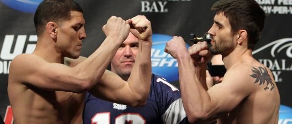 Diaz vs Condit UFC photo- gallery