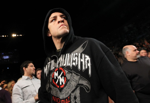 Nick Diaz UFC 143 photo
