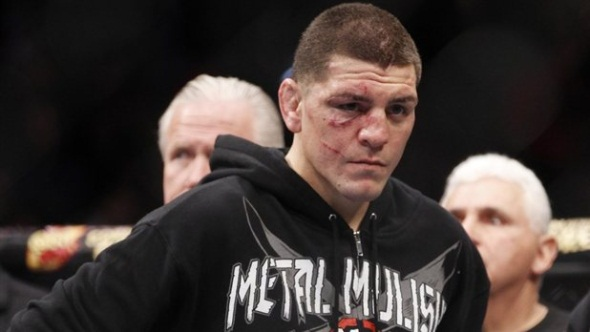 Nick Diaz fined and suspended