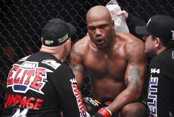 Ramapge loses against Bader UFC 144