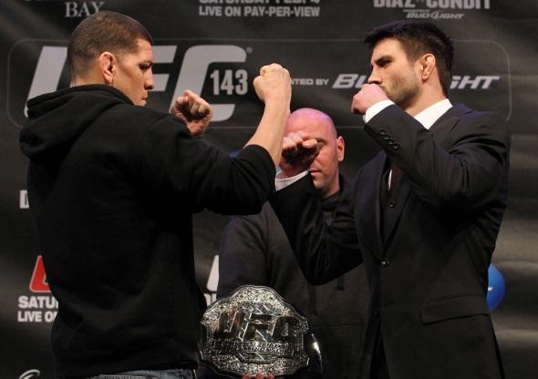 UFC 143 Diaz vs Condit