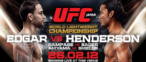 UFC 144 Poster pic