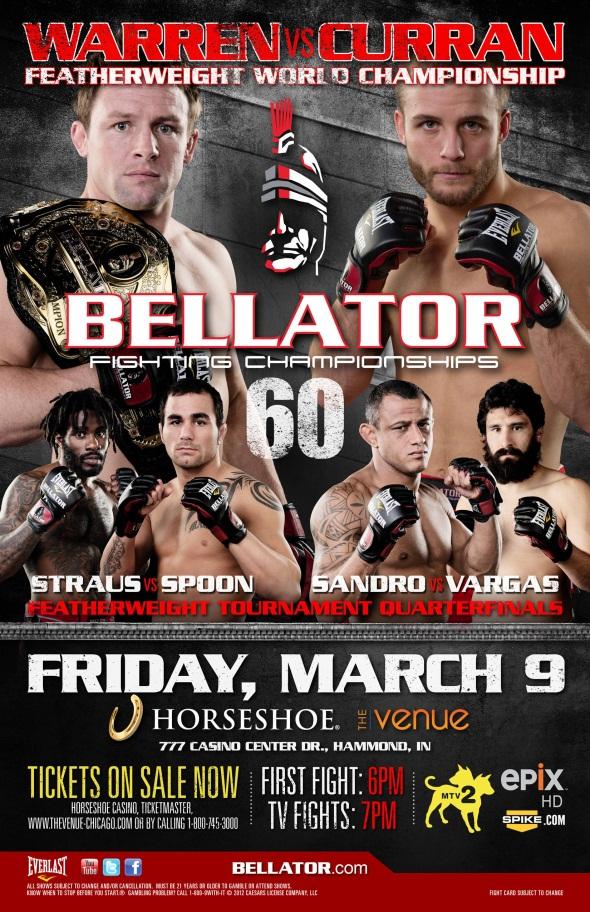 Bellator 60 poster photo