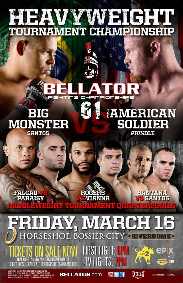 Bellator 61 poster photo