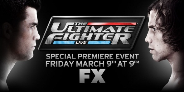 The Ultimate Fighter Live 1 poster
