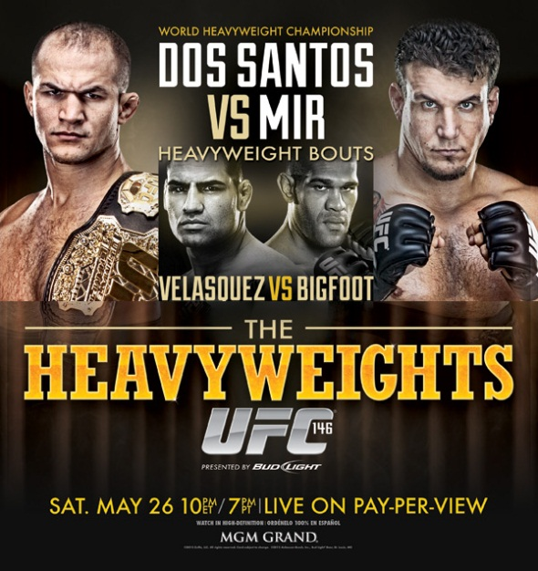 UFC 146 Poster Pic