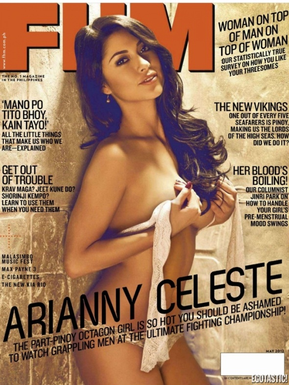 Arianny Celeste FHM Philippines May UFC Pic 1