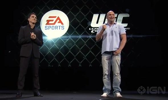 Dana White EA Sports UFC pic