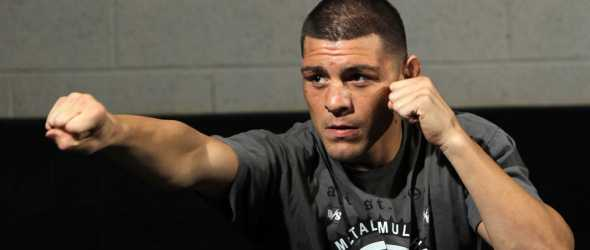 Nick Diaz punch UFC pic- gallery