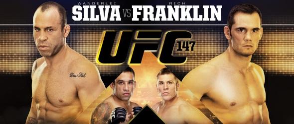 UFC 147 Poster Silva Franklin Werdum Russow- gallery